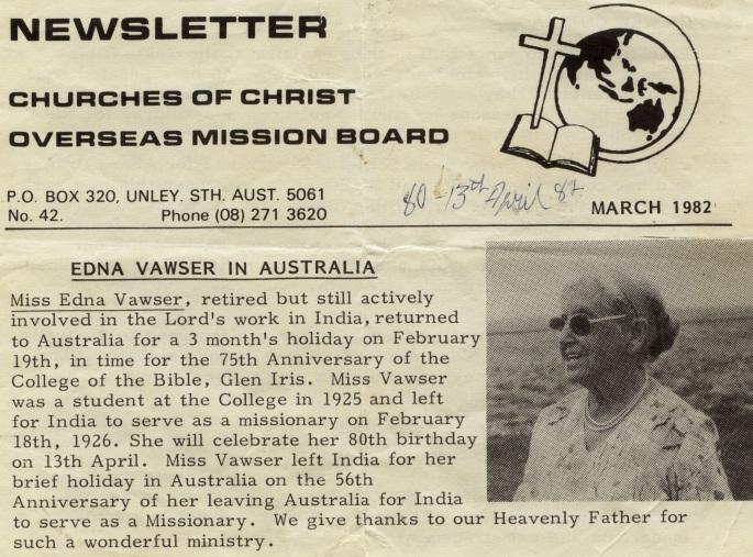 Edna visits Western Australia