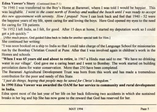 Australian Christian Write up page 2