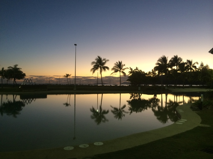 Our last night - Airlie Beach