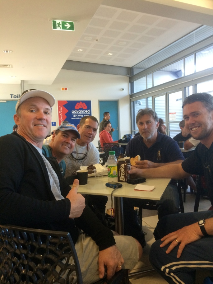 The Gang at The Airport