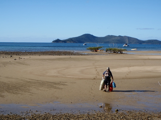 Tides Out At Peter Bay