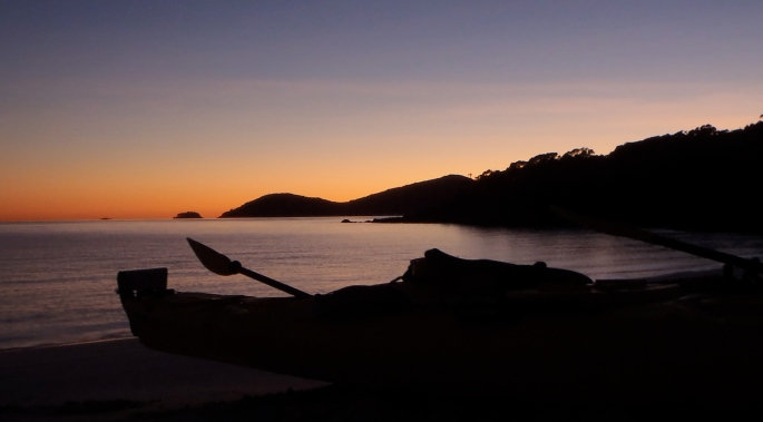 Sunrise at Crayfish Bay